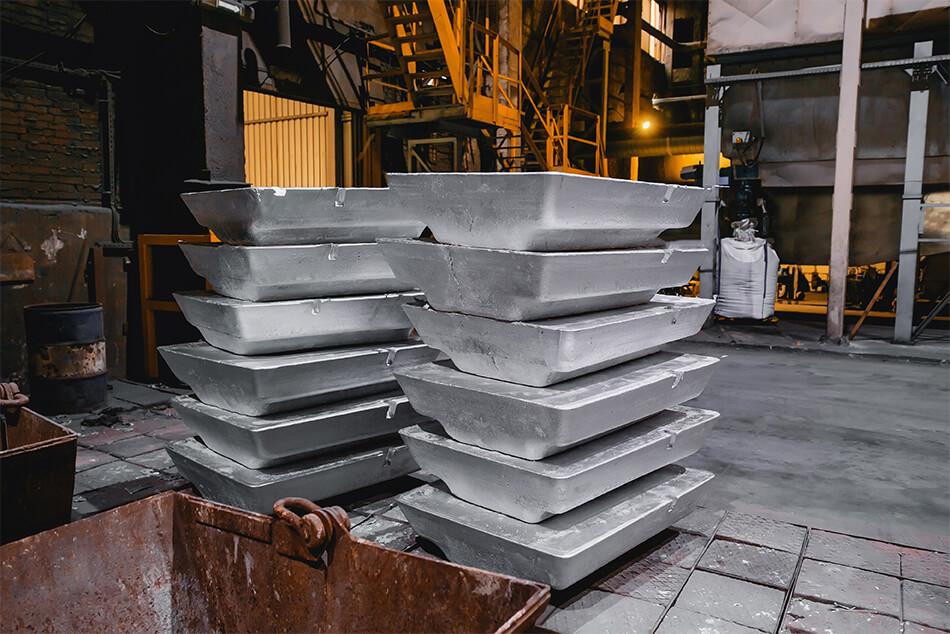 Moules de fonderie d'aluminium